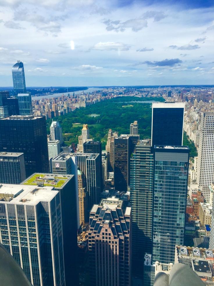 Skyline over Central Park - NYC